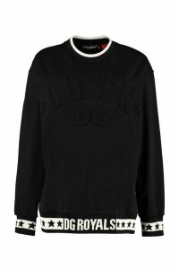 Dolce & Gabbana Millenials Star Cotton Crew-neck Sweatshirt