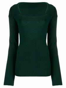 Jacquemus Praio sweater - Green