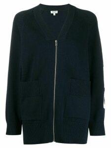 Kenzo Sport Zipped Cardigan