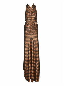Rick Owens Lilies Striped Long Dress