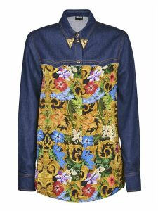 Versace Jeans Couture Printed Denim Shirt