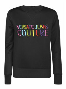 Versace Jeans Couture Couture Embroidered Sweater