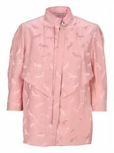 Stella Mccartney Horse Jacquard Blouse