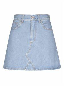 Chiara Ferragni Flirting Denim Skirt
