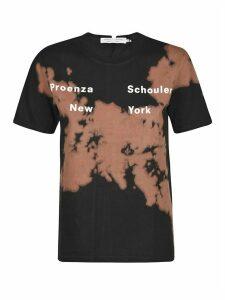 Proenza Schouler Short Sleeve Tie Dye T-shirt