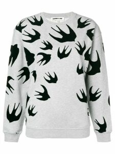 McQ Alexander McQueen Swallow print sweatshirt - Grey