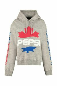 Dsquared2 Cotton Hoodie - Dsquared2 X Pepsi