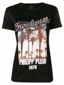 Philipp Plein printed T-shirt - Black