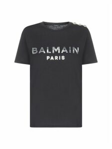 Balmain Logo Short Sleeve T-shirt