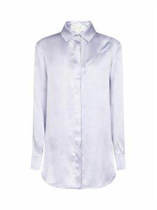 MATÉRIEL Silk Blouse W Double Belt Shirt