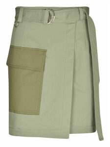 MSGM Belted Military Skirt