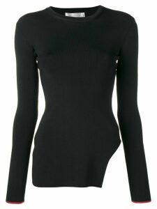 Victoria Beckham side cut out sweater - Black