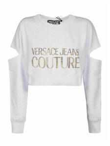 Versace Jeans Couture Cut-out Couture Sweater