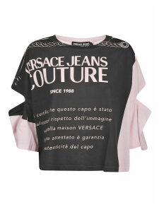 Versace Jeans Couture Cut-out Detail Couture Top