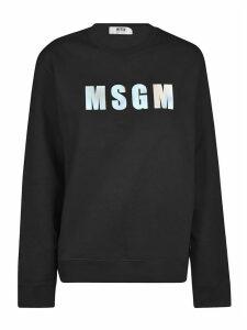 MSGM Oversized Logo Sweatshirt