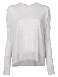 Derek Lam 10 Crosby Boxy crew neck Sweater - Grey