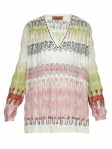 Missoni Multicolor Knitted Blouse