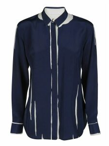 Paul Smith Navy Silk Shirt