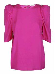 Parosh Pink Silk Blouse
