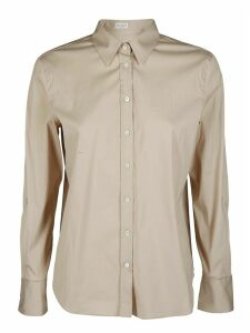 Brunello Cucinelli Beige Cotton And Silk Shirt