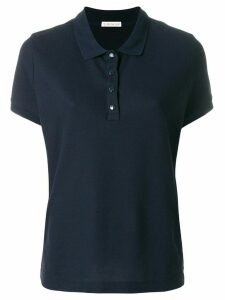 Moncler classic polo shirt - Blue
