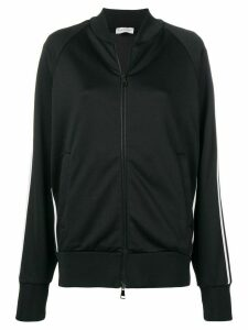Moncler knitted track jacket - Black