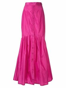 Taller Marmo buttoned fish tail skirt - PINK