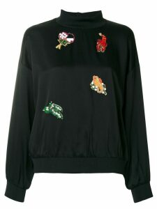 Vivetta embellished sweatshirt - Black