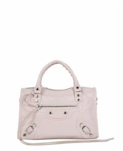 Balenciaga Pink Classic Mini City Aj Bag