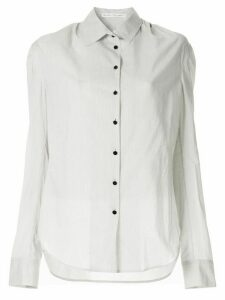 Olivier Theyskens striped shirt - White