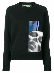 Dsquared2 x Mert & Marcus 1994 printed patch sweatshirt - Black