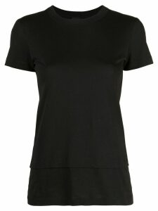 Vera Wang double layer T-shirt - Black