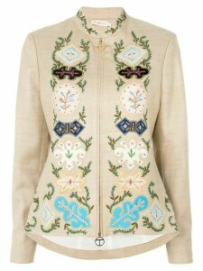 Tory Burch Damian jacket - NEUTRALS