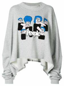 Haculla loose fit sweatshirt - Grey