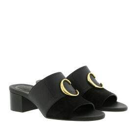 Chloé Sandals - Thong Scuff Sandals Black - black - Sandals for ladies