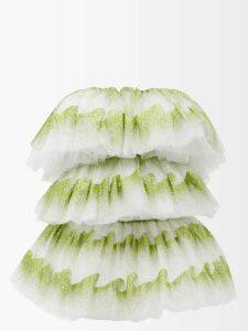Bella Freud - 1970-intarsia Wool Sweater - Womens - Red