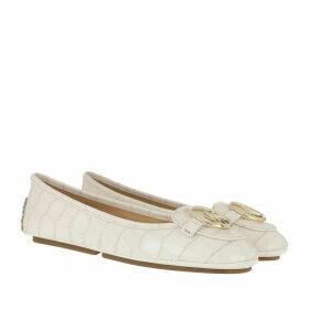 Michael Kors Ballerinas - Lillie Moccasin Cream - white - Ballerinas for ladies
