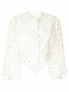 Bambah Disco gold jacket - White