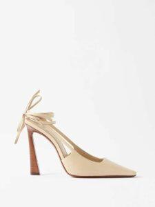 The Row - Sibel Wool-blend Sweater - Womens - Navy