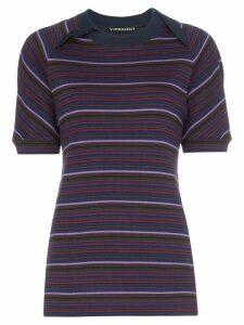 Y/Project striped T-shirt - Multicolour