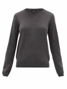 A.P.C. - Savannah Merino-wool Sweater - Womens - Grey