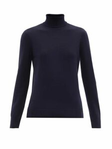 A.P.C. - Sandra Wool Roll-neck Sweater - Womens - Navy
