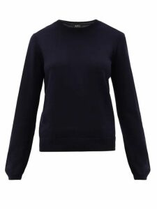 A.P.C. - Savannah Merino-wool Sweater - Womens - Navy