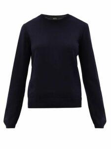A.P.C. - Savannah Merino-wool Sweater - Womens - Navy