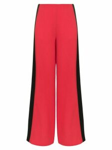 Roland Mouret Cumberland wide leg trousers - Red