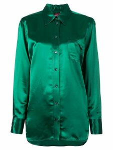 Sies Marjan fluid shirt - Green