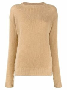 Prada slim fit jumper - Brown