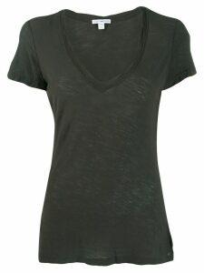 James Perse scoop neck T-shirt - Grey