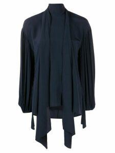 Chloé tied neck blouse - Blue