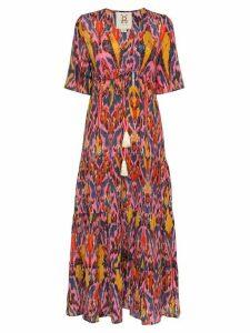Figue Kalila printed maxi dress - NOIFP